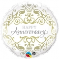 Happy Anniversary - folija balon