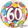 60. ROĐENDAN - folija balon