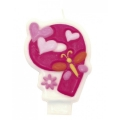 Svjećica Girl 9 Pinky