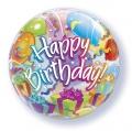 HAPPY BDAY bubble balon