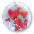 Lovely Floating Hearts 24""