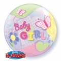 GIRL BABY bubble balon