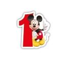 Mickey Mouse svijećica broj 1
