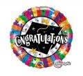 Congratulation Grad Cap - folija balon