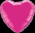 """Magenta Heart 18"""""""